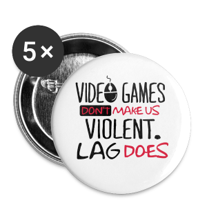Lag Violence  - Buttons small 25 mm