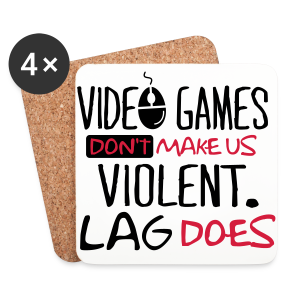 Lag Violence  - Coasters (set of 4)