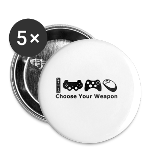 Choose Your Weapon  - Buttons small 25 mm