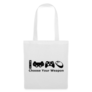 Choose Your Weapon  - Tote Bag
