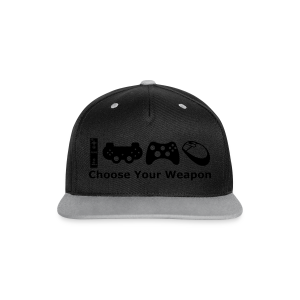 Choose Your Weapon  - Contrast Snapback Cap