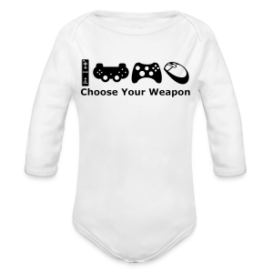 Choose Your Weapon  - Longsleeve Baby Bodysuit