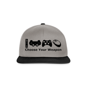 Choose Your Weapon  - Snapback Cap