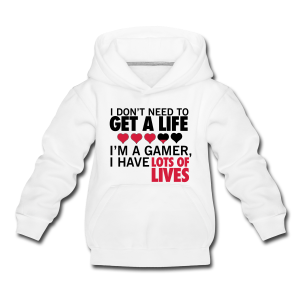 Don't need a life - Kids' Premium Hoodie