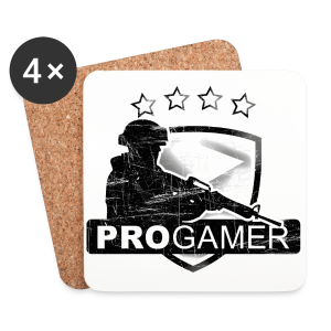 Pro Gamer - Coasters (set of 4)