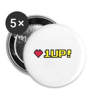 1 up - Buttons small 25 mm