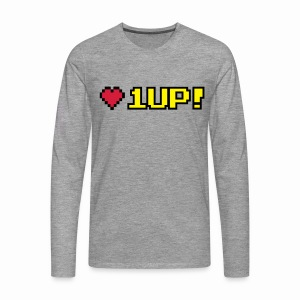 1 up - Men's Premium Longsleeve Shirt