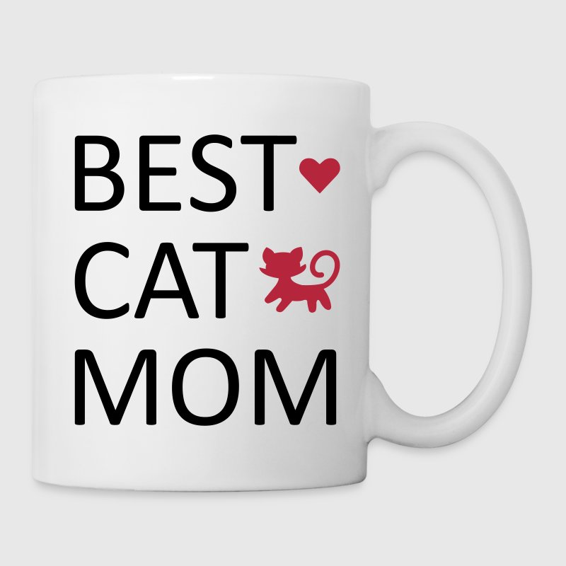 Best Cat Mom Mokken & toebehoor - Mok