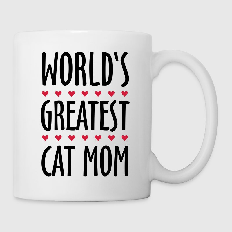World's Greatest Cat Mom Mugs & Drinkware - Mug