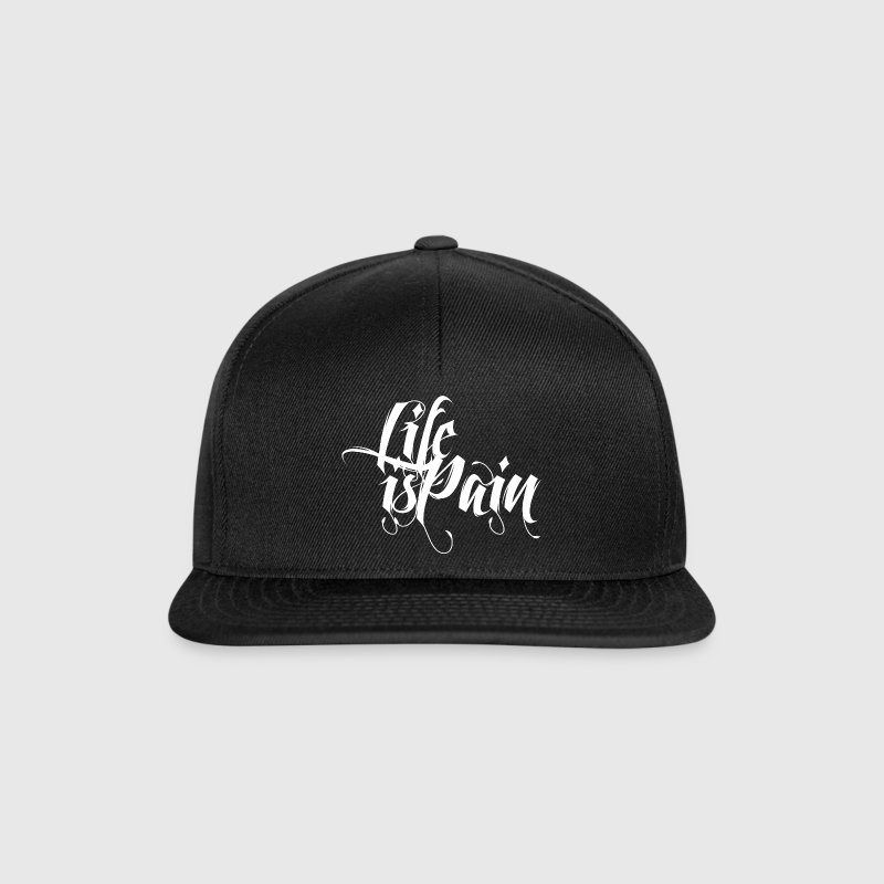 Life is Pain Caps & Mützen - Snapback Cap