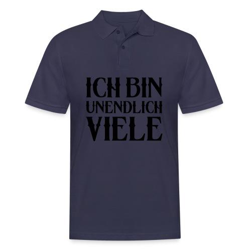 ICH BIN UNENDLICH VIELE - Männer Poloshirt