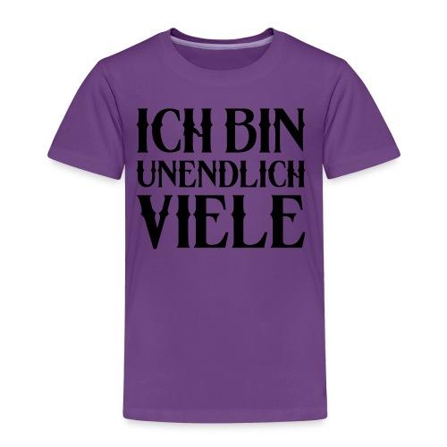 ICH BIN UNENDLICH VIELE - Kinder Premium T-Shirt