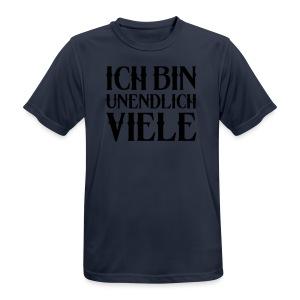 ICH BIN UNENDLICH VIELE - Männer T-Shirt atmungsaktiv