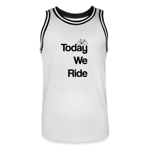 Today We Ride Mug - Men's Basketball Jersey