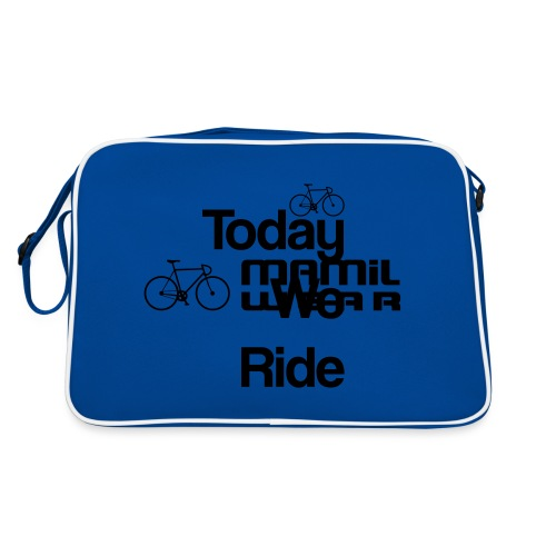 Today We Ride Mug - Retro Bag