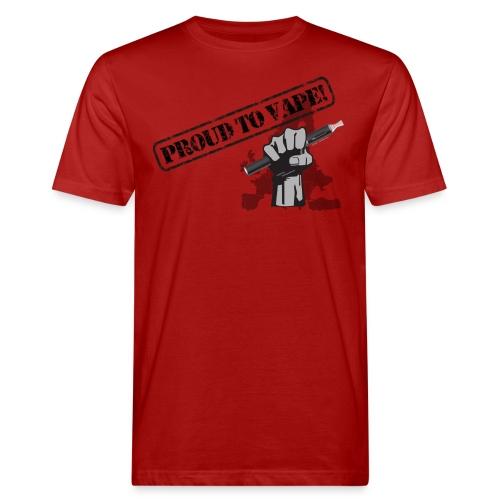 Proud to Vape T-Shirt - Männer Bio-T-Shirt