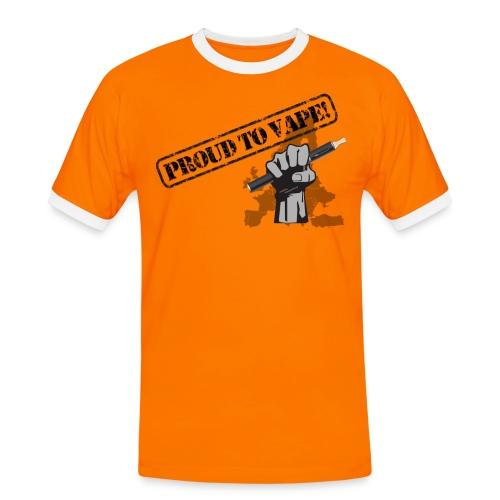 Proud to Vape T-Shirt - Männer Kontrast-T-Shirt