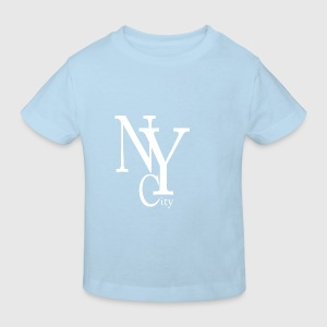 New York City blanc Accessories - Kids' Organic T-shirt