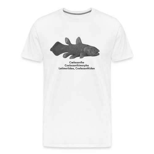 Cœlacanthe - T shirt Adulte - T-shirt Premium Homme