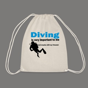 Diving is very important - Turnbeutel