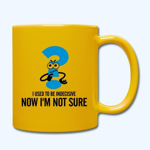 Indecisive Ladies T-Shirt - Full Colour Mug
