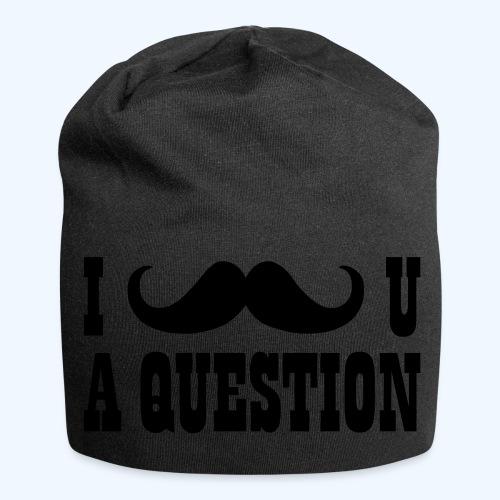I Moustache You A Question Mens T-Shirt - Jersey Beanie