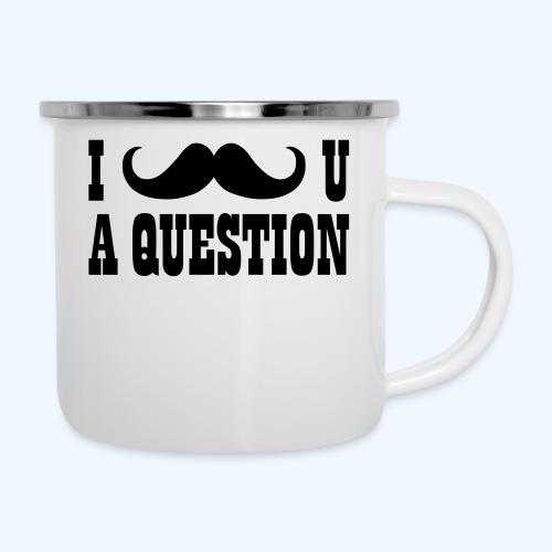 I Moustache You A Question Mens T-Shirt - Camper Mug