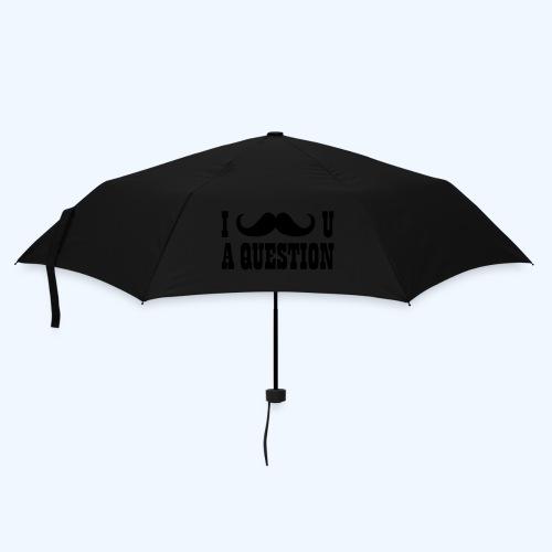 I Moustache You A Question Mens T-Shirt - Umbrella (small)