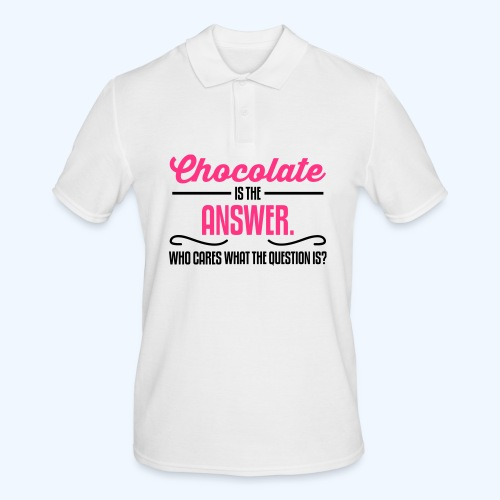 Chocolate Ladies T-Shirt - Men's Polo Shirt