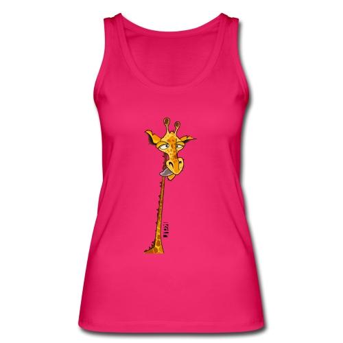 Girafe au long cou - Débardeur bio Femme