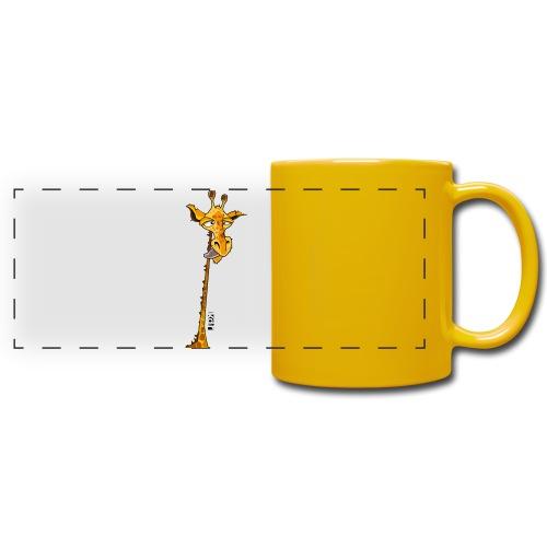 Girafe au long cou - Mug panoramique uni