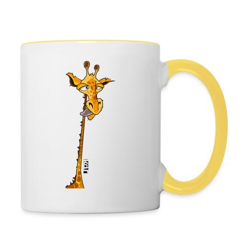 Girafe au long cou - Mug contrasté