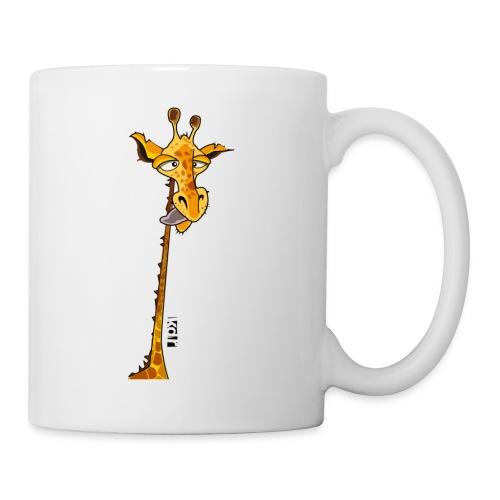 Girafe au long cou - Mug blanc