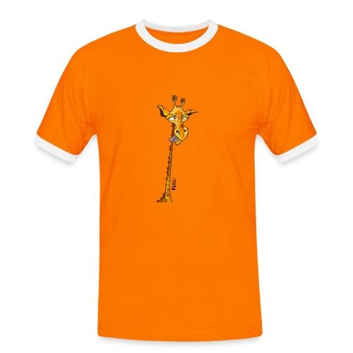 Girafe au long cou - T-shirt contrasté Homme