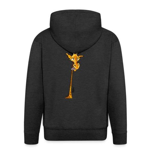 Girafe au long cou - Veste à capuche Premium Homme