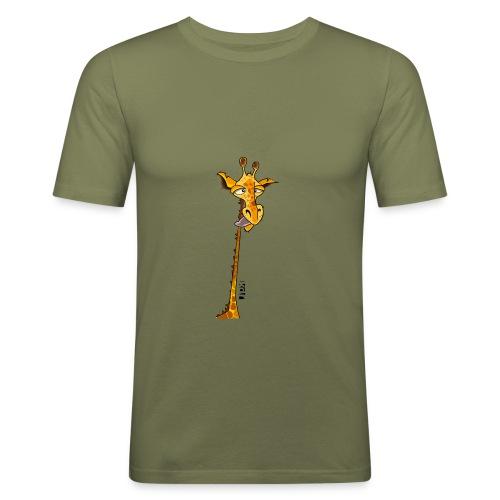Girafe au long cou - T-shirt près du corps Homme