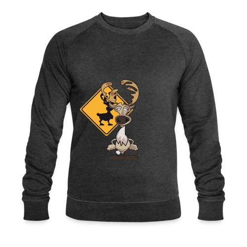 Warning Caribou - Sweat-shirt bio Stanley & Stella Homme