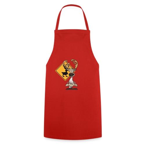 Warning Caribou - Tablier de cuisine