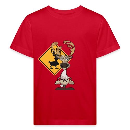 Warning Caribou - T-shirt bio Enfant