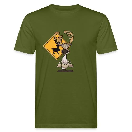 Warning Caribou - T-shirt bio Homme