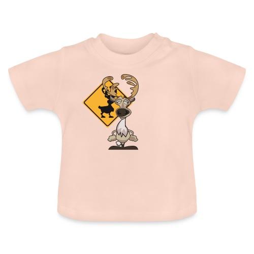 Warning Caribou - T-shirt Bébé