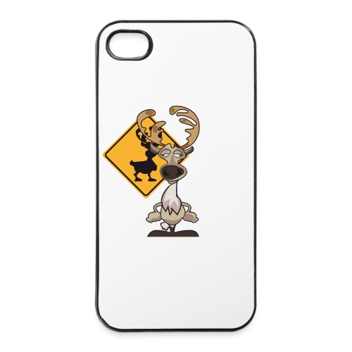 Warning Caribou - Coque rigide iPhone 4/4s