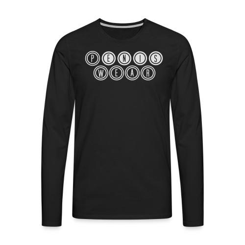 Männer T-Shirt - Männer Premium Langarmshirt