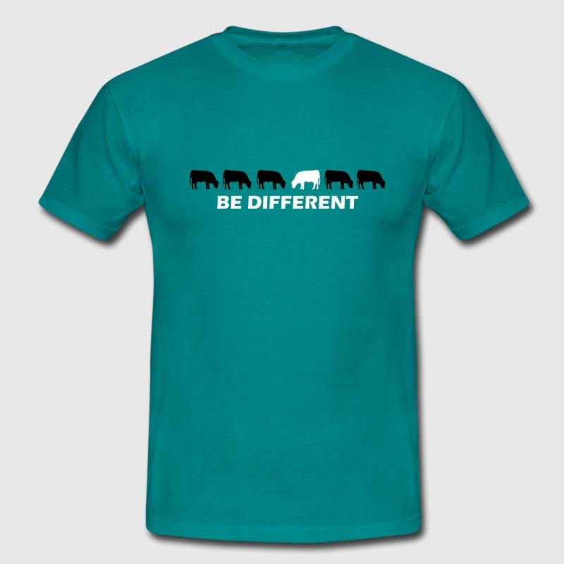 be different kuh T-Shirts - Männer T-Shirt