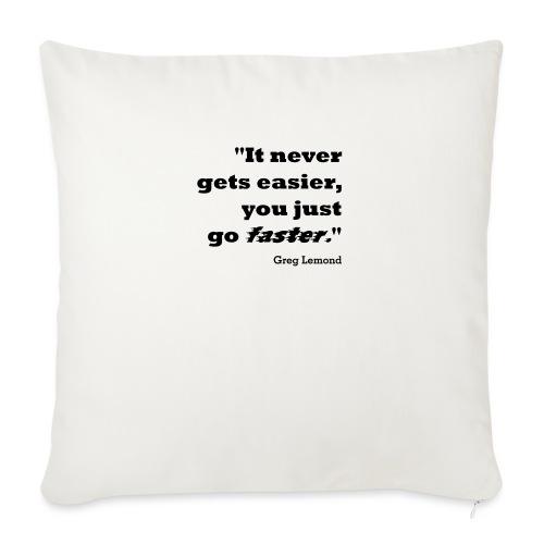Faster like Lemond Mug - Sofa pillowcase 17,3'' x 17,3'' (45 x 45 cm)