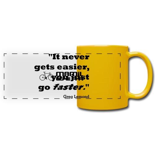 Faster like Lemond Mug - Full Color Panoramic Mug