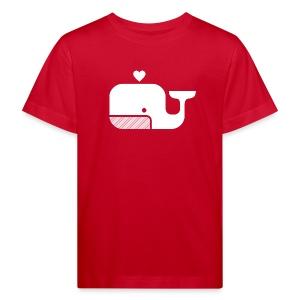 Ben der Blauwal  - Kinder Bio-T-Shirt