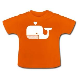 Ben der Blauwal  - Baby T-Shirt