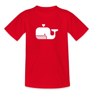 Ben der Blauwal  - Kinder T-Shirt