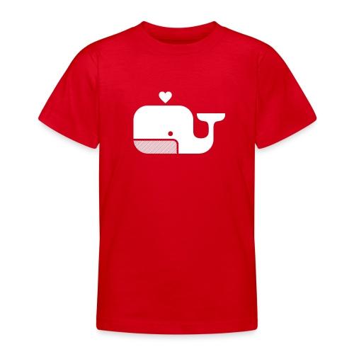 Ben der Blauwal  - Teenager T-Shirt